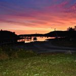 Frisky fish sunrise, Maine vacation rental